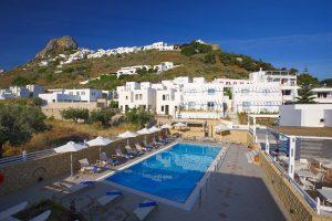 skyros hotel with pool - Perigiali hotel