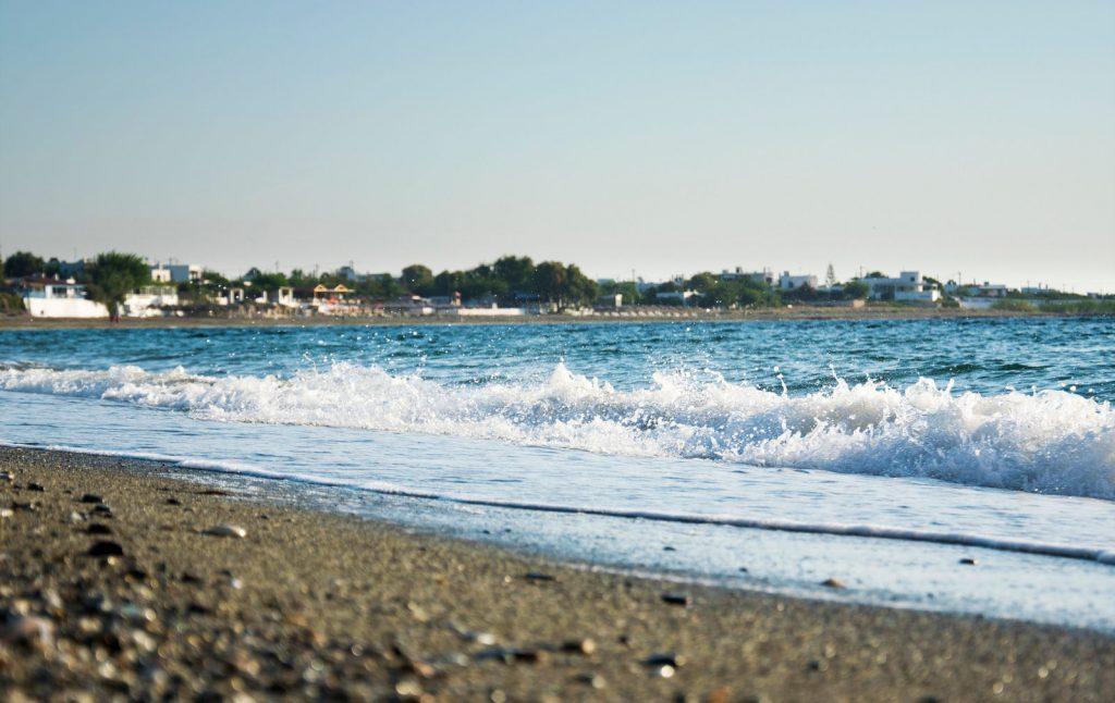 La plage Magazia
